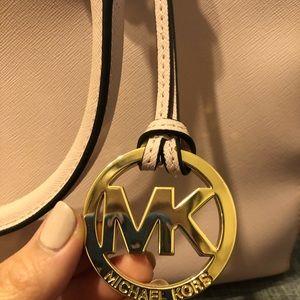 Michael Kors Saffiano satchel